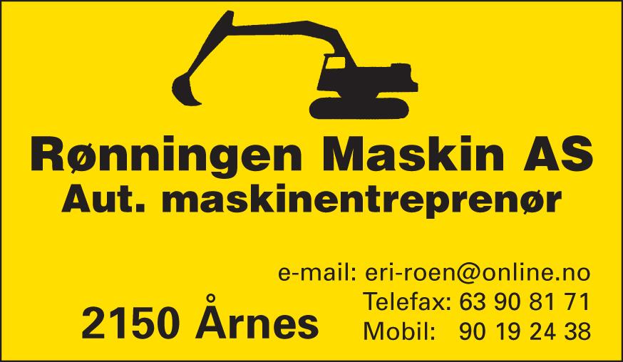 Rønningen Maskin AS