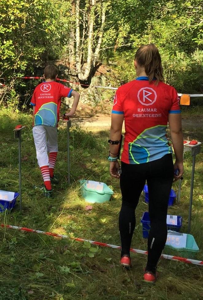 O-løpere i Raumar-tøy