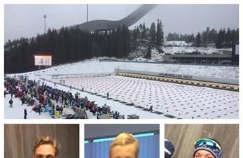 4 medaljer til Bjerke IL under NM jr skiskyting 26.-29. januar 2017