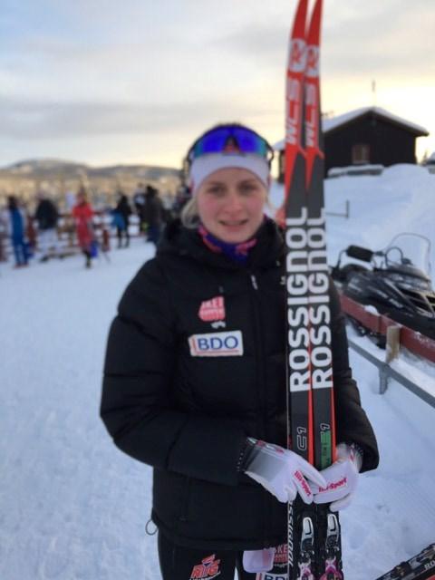 Pernille fikk en flott 5.plass