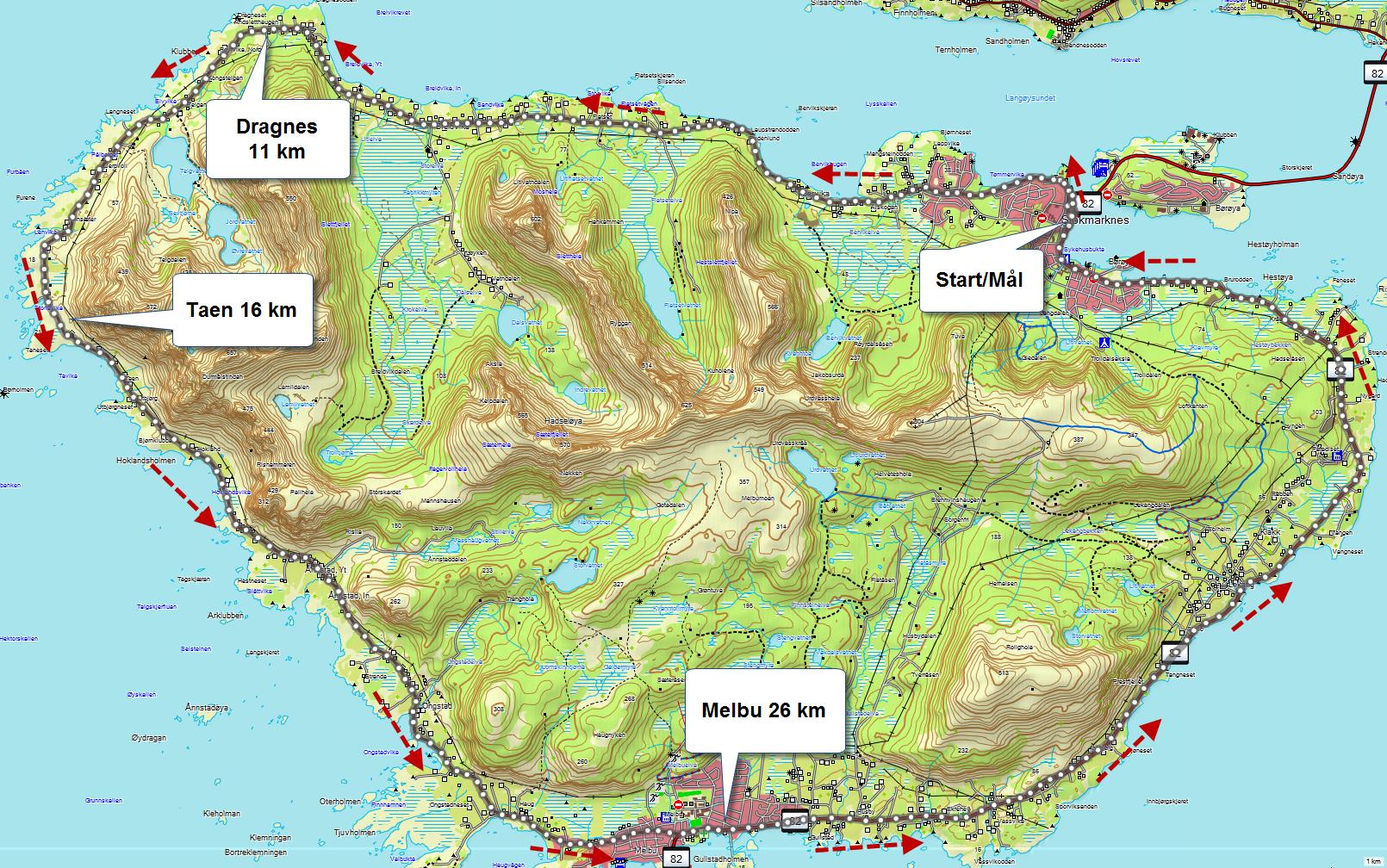 stokmarknes kart Informasjon stokmarknes kart