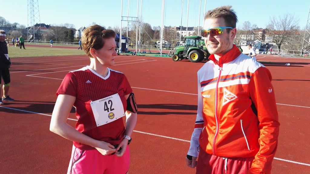 Gunn og Eirik Skorstad slo til med bestenotering på 5K