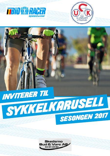 Invitasjon til Ullensaker CK sykkelkarusell 2017