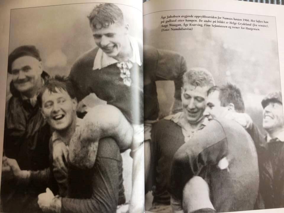Jubel for a-laget i 1966