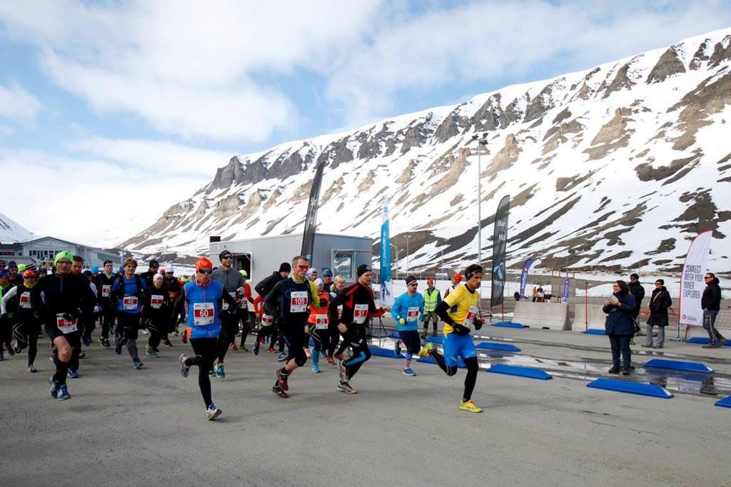 Spitsbergen Marathon sitt bilde.