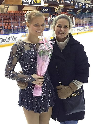 Kari Sofie og Susanne i Asker 4. februar 2017