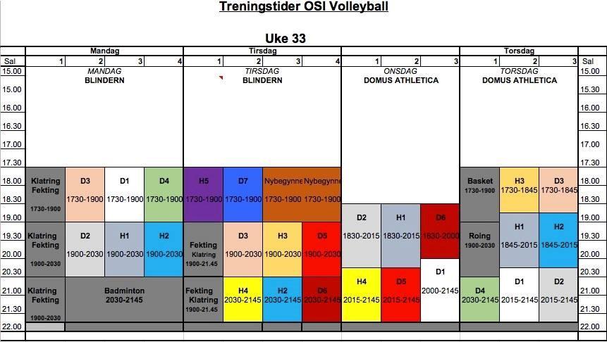 OSI Volleyball sitt bilete.