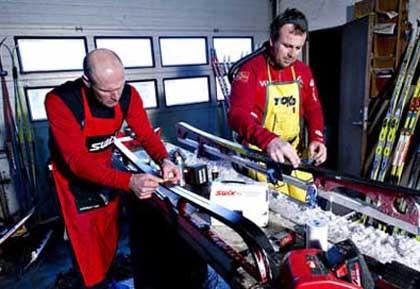 Bilderesultat for prepping av alpinski