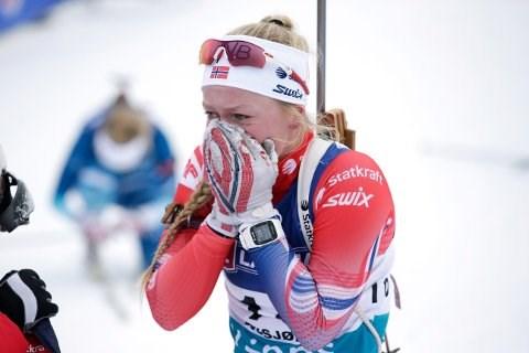 DEBUT: 19 år gamle Karoline Erdal er teken ut til verdscup for første gang i karriera. Her frå Beitostølen tidlegare i november då ho vart beste norske i sesongopninga.