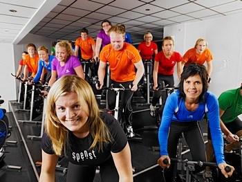 Sykkel i sal