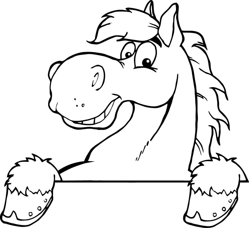 Bilderesultat for funny horse drawing