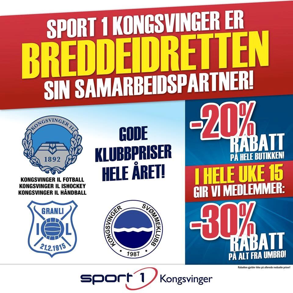 Sport 1 Kongsvinger sitt bilde.