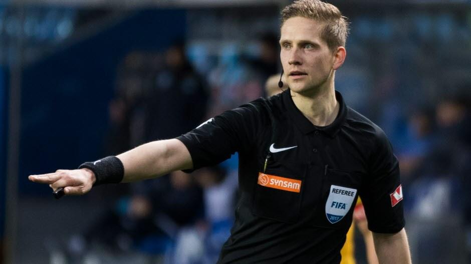 Espen Eskås dommer Eliteserien