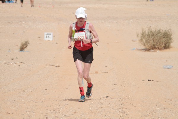 Sliten og glad for motvindt etter 35 km FOTO: INGUNN YTREHUS