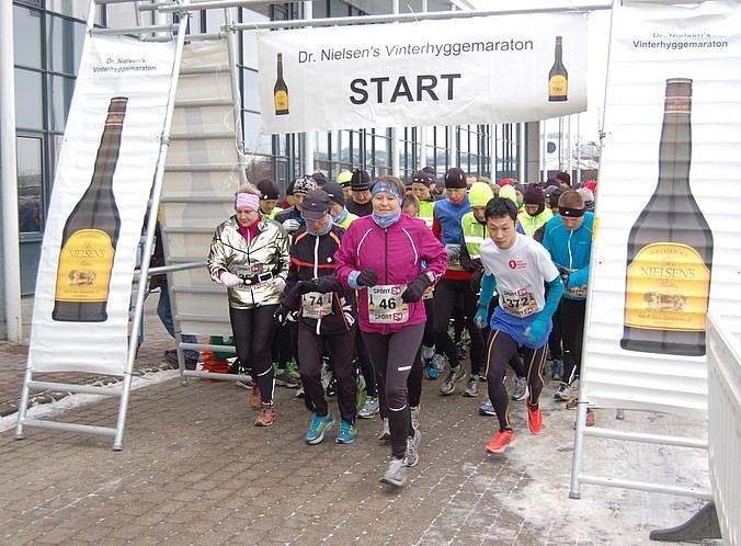 Starten går til løbet i 2013
