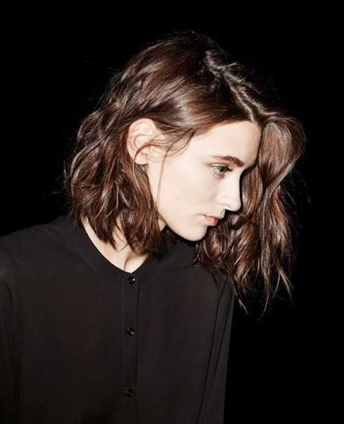 Best Textured Messy Bob Haircuts