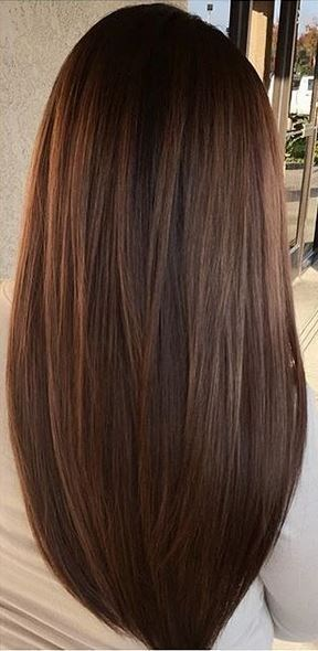 cool brunette hair color with subtle warm highlights... by http://www.dana-haircuts.xyz/hair-tutorials/brunette-hair-color-with-subtle-warm-highlights/
