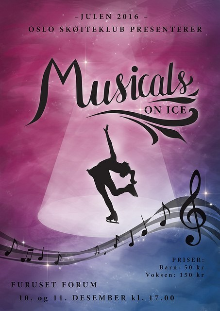Musicals on ice – OSKs juleshow 2016