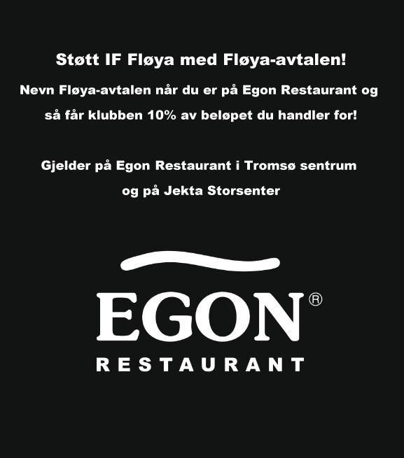 Støtt IF Fløya med Fløya-avtalen hos Egon Restaurant