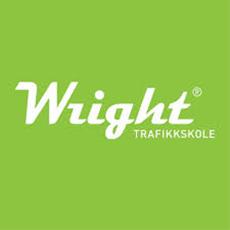 Wright trafikkskole bildelogo